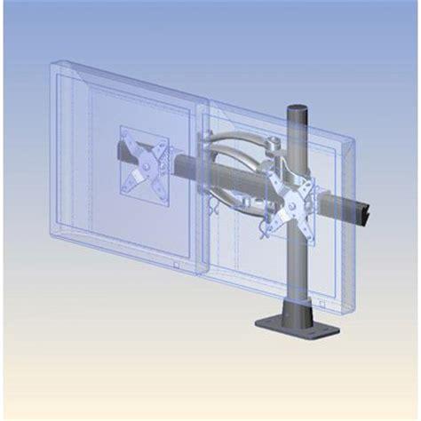 Ergotech 200 F16 B02 Dual Horizontal Articulating Arm Ergotech Horizontal Lcd Monitor Arm Desk Stand