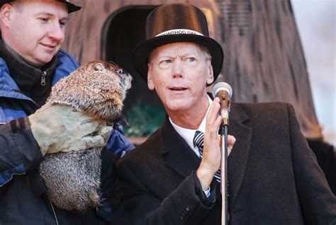 groundhog day woodstock groundhog doesn t see shadow in owc headquarters hometown