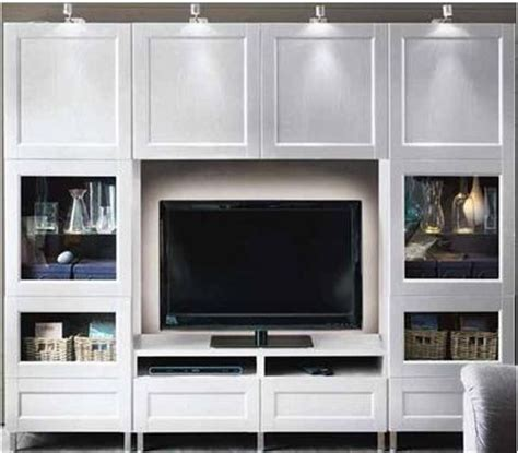 ikea entertainment center hack entertainment center from ikea furniture pinterest