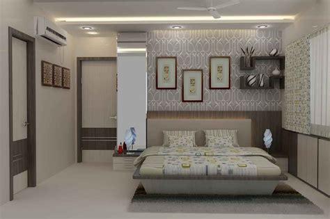 wallpaper for walls in navi mumbai master bedroom with wallpaper design by mahendra jadeja