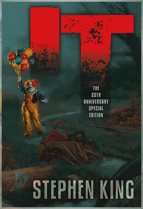 libro illustration now 25th anniversary it 25th anniversary special edition from cemetery dance coming fall 2011