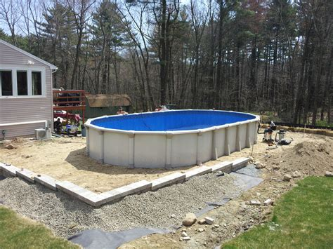 Oval Above Ground Pools Plans : Best Oval above Ground