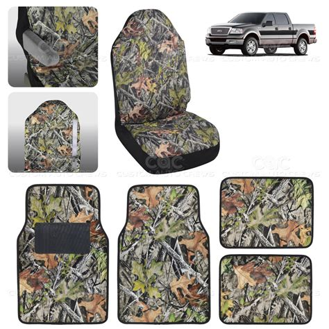 Camo Floor Mats by Camo Seat Cover Floor Mat For Ford F 150 1500 5 Camouflage Ebay
