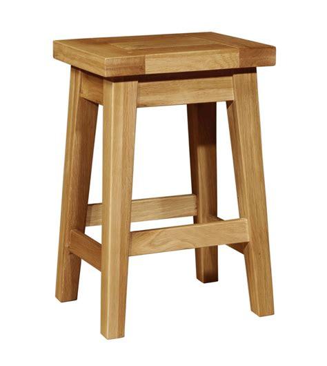 chiltern grand oak kitchen stool