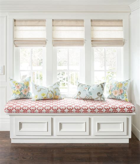 white window bench window seat traditional family room salt lake city