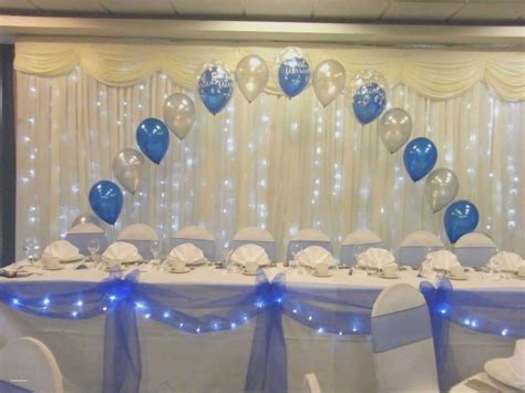 Royal Blue And Silver Party Decorations