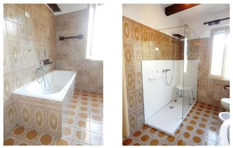 doccia al posto della vasca da bagno sostituzione vasca con doccia