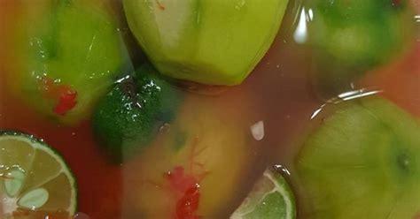 resep asinan  buah enak  sederhana cookpad
