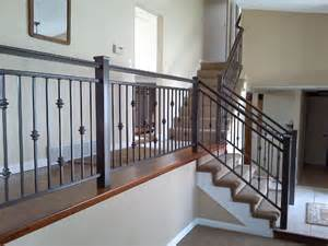 Interior Iron Railing Traditional Staircase Denver