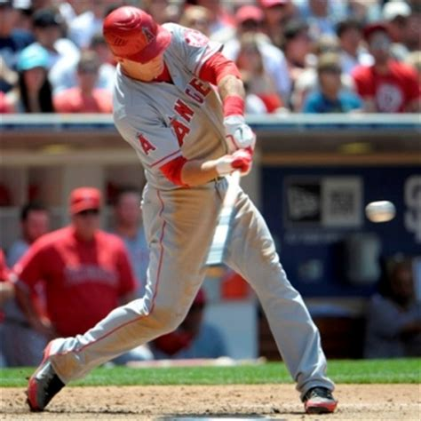 mike trout slow motion swing the myth of extension in hitting