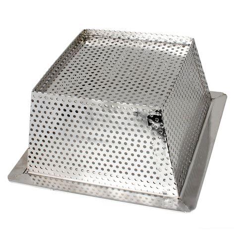 stainless steel floor l 10 inch stainless steel floor basket for restaurants