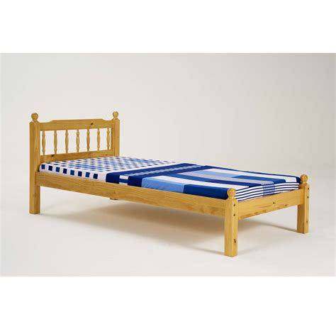 Pine Single Bedframe Allied Furniture Pine Single Bed Frame