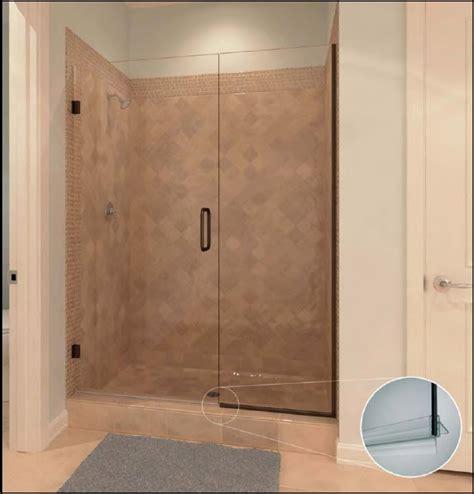 hinged frameless shower door frameless shower door hinged bathroom