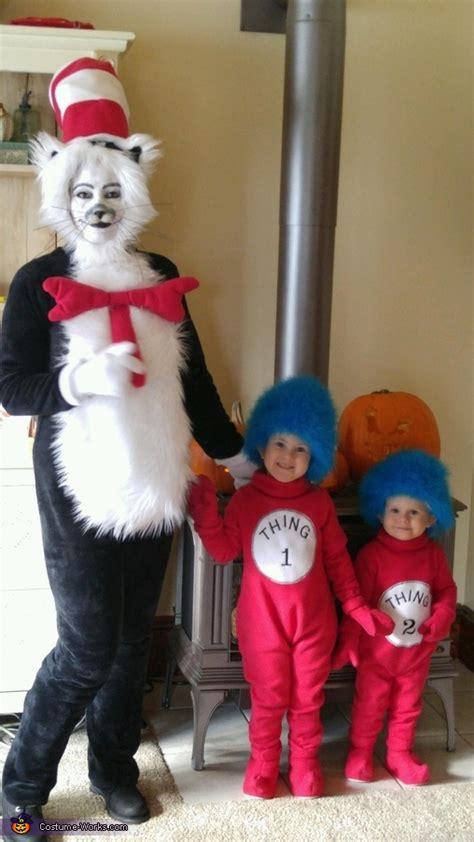 diy cat   hat family costume