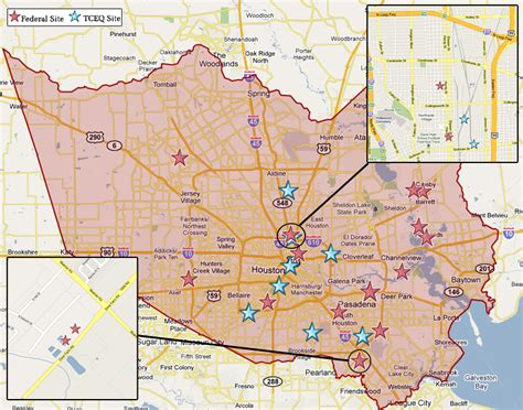 houston landfill map superfund in harris county tceq www tceq gov