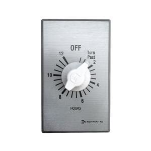 Master Flow 12 Hour Timer For Whole House Fans Wht36 The