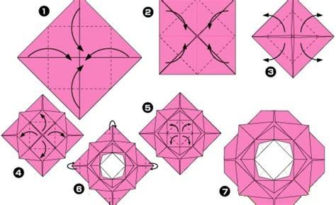 Rosa De Origami - rosa de origami paso a paso