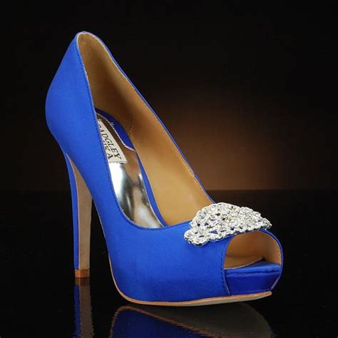 My Of Glass Slipper Part Two by My Glass Slipper Blue Wedding Shoes Featured On Cbs News