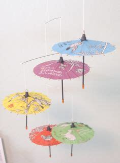 umbrella mobile pattern paper umbrella template and tutorial baby shower ideas