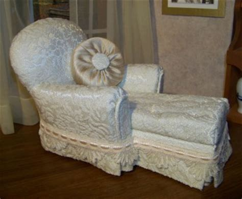 Handmade Doll Furniture - doll furniture for size dolls chaise lounge