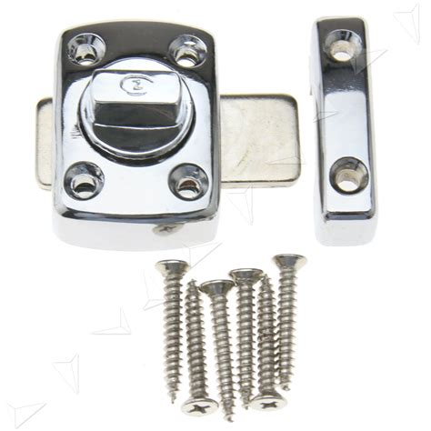 bathroom door bolt lock bathroom toilet catch door lock latch chrome turn bolt