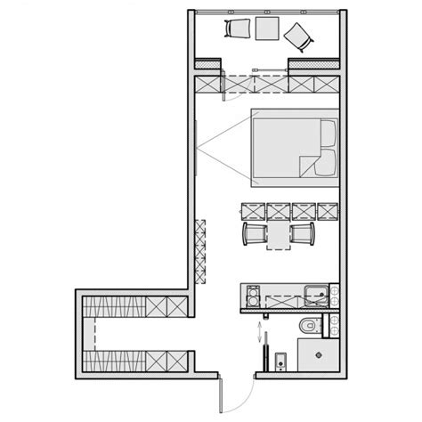 floor plan for 500 sq ft apartment 3 beautiful homes under 500 square feet