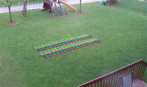 backyard twister diy backyard games the idea room