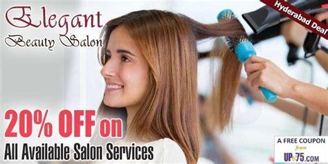 haircut coupons in hyderabad elegant beauty unisex salon somajiguda hyderabad coupons