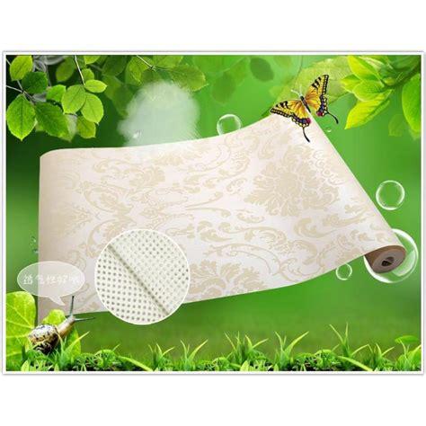 Wallpaper Dinding Glossy Modern European Style wallpaper dinding glossy modern european style beige jakartanotebook