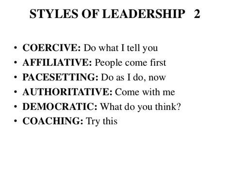 pacesetter leadership definition presentation on leadership