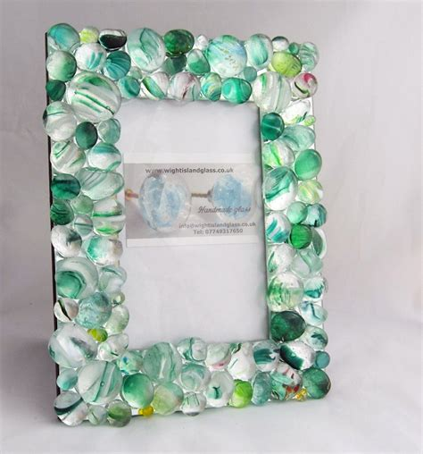 Handcrafted Frames - our new handmade photo frames wight island glass