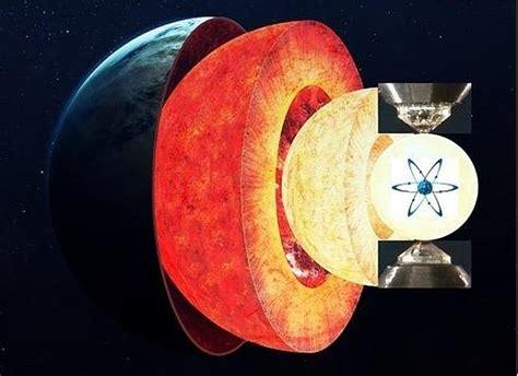 nucleo interno della terra viaggio al centro della terra riprodotti gli isotopi di