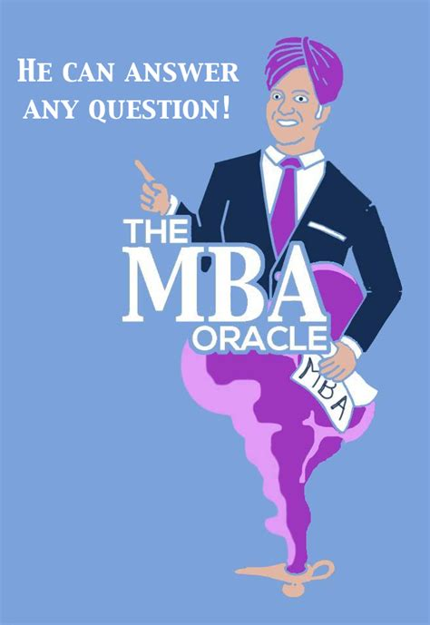 Oracle Mba by The Mba Oracle