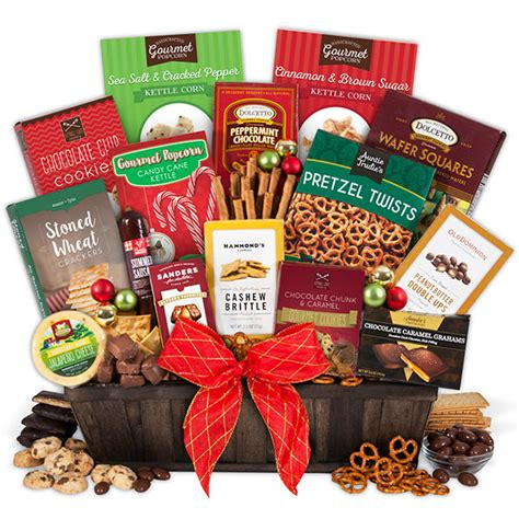 gourmet holiday gift basket by gourmetgiftbaskets com