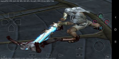 android games  god  war ps iso mb