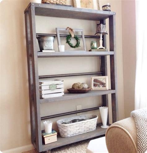 industrial rolling bookshelf home decor interior design