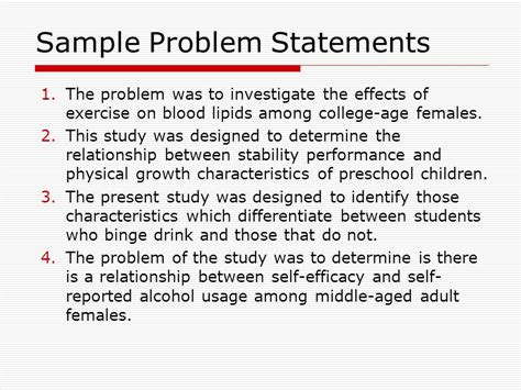 what is statement of the problem in research paper research problem statement exles yun56 co