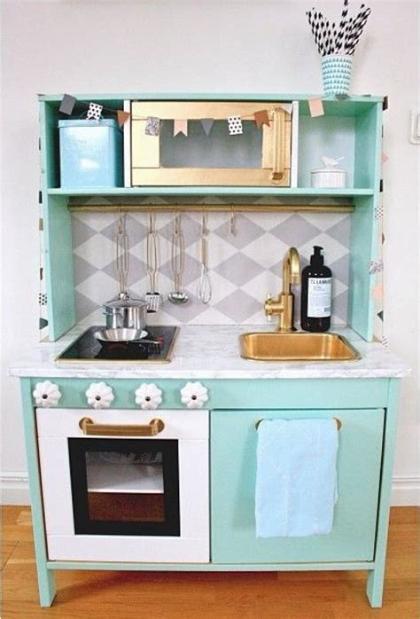 diy ikea play kitchen hack kitchen hacks cabinets and ikea duktig play kitchen makeover mint kid rooms