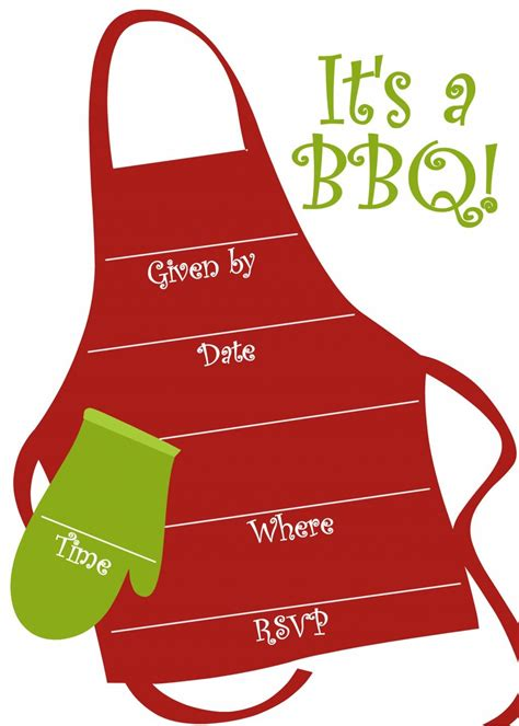 bbq invitations templates free free bbq invitations templates invitation