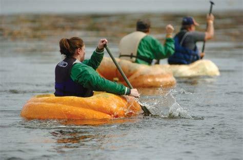 giants boat picture giant pumpkin river regatta participate in the giant
