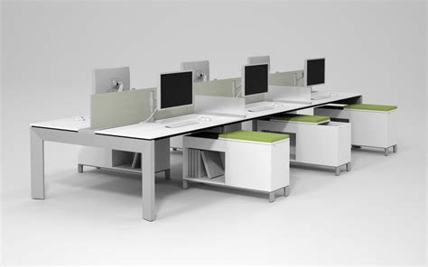 allsteel stride bench office furniture desking