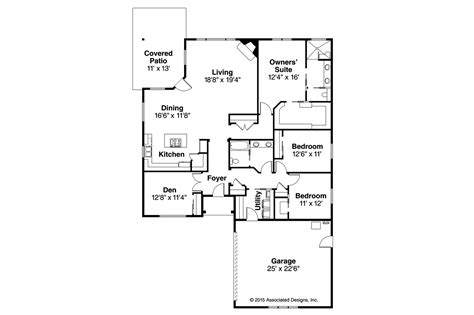 prairie style home floor plans prairie style house plans denver 30 952 associated designs