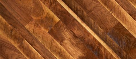 Clear or Unfinished   American Walnut Flooring   Original