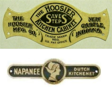 robinson s antique hardware quot hoosier quot labels