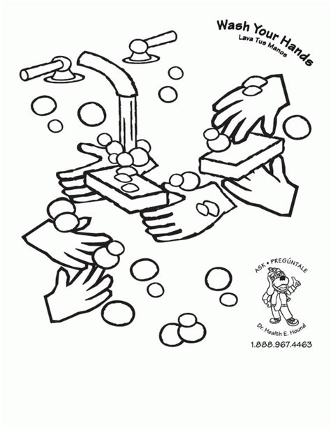 washing coloring pages for preschoolers handwashing coloring page az coloring pages