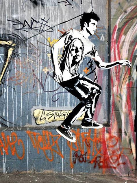 models  graffiti  street art  alexa meade