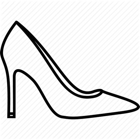 High Heel Shoes Outline by High Heel Outline Png Transparent High Heel Outline Png Images Pluspng