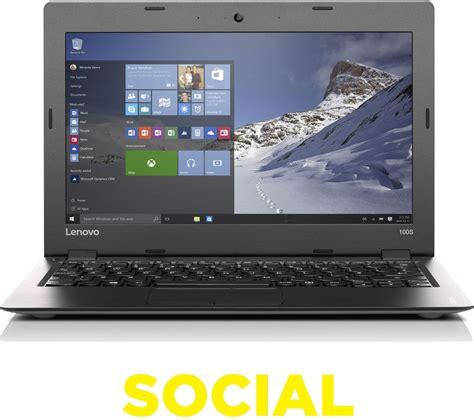 Notebook Lenovo Ideapad 11 Lenovo Ideapad 100s 11 6 Laptop Silver Deals Pc World