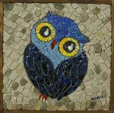 mosaic pattern owl mosaics on pinterest mosaic garden mosaic crosses and