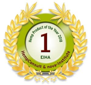 canapé innovation prodotto di canapa dell anno 2018 ehia innovation award